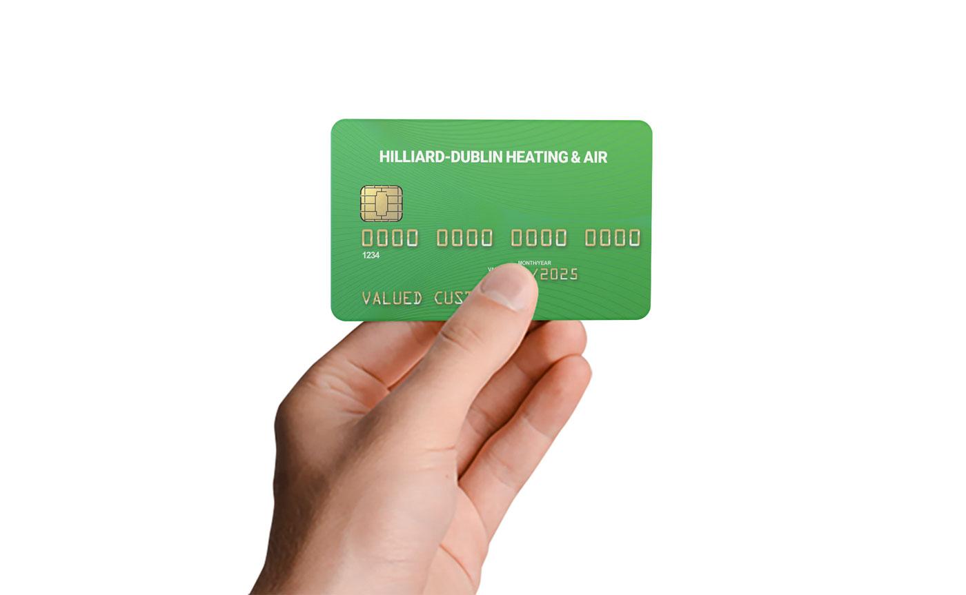 hilliard-dublin-credi-card-financing